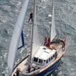 The IWDG's RV Celtic Mist encounters blue whales in Irish waters on her maiden voyage