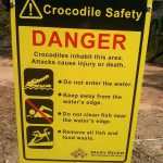 Croc Sign, Northern Territory