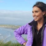 Presenter Christine Bleakly hilighting Wild Ireland