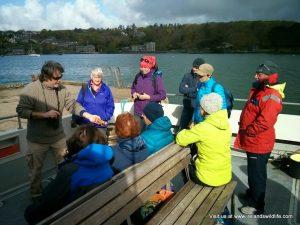 All aboard Cork Whale Watch vessel, The Holly Jo