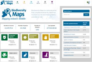 Biodiversity Maps Interface