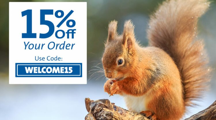 Get 15% off Garden Wildlife products for Wold Animal Day